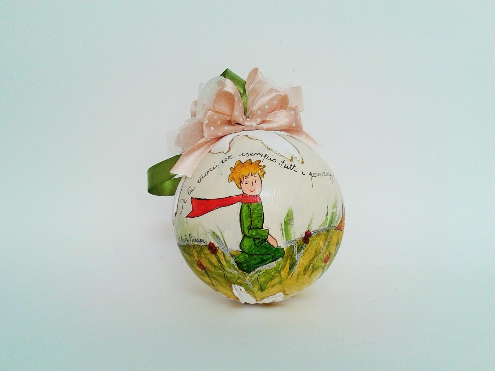 palla di natale piccolo principe