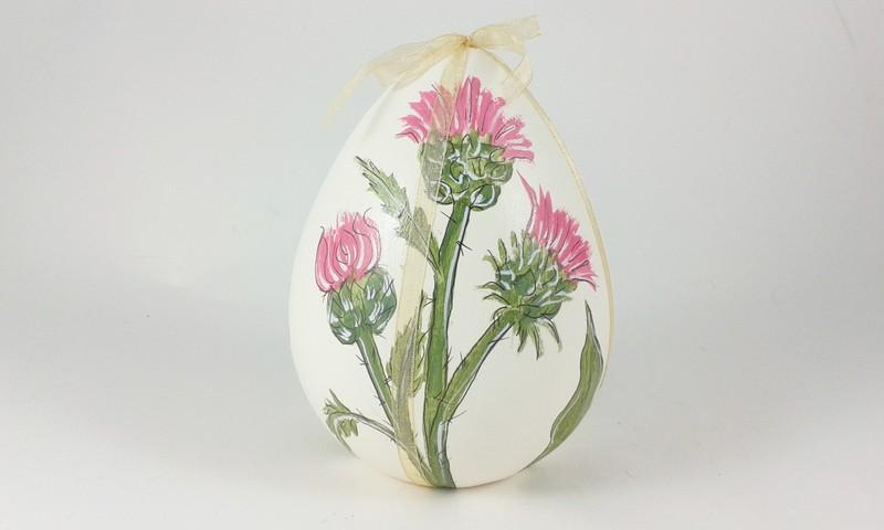 Uova Di Pasqua Ceramica.Uovo Di Pasqua