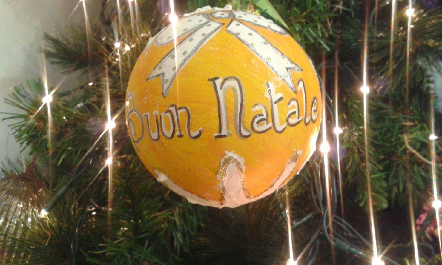 E si comincia ad allestire … il Natale